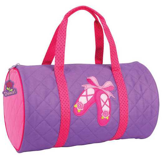 SJ830142B: SJ  QUILTED DUFFLE  BALLET