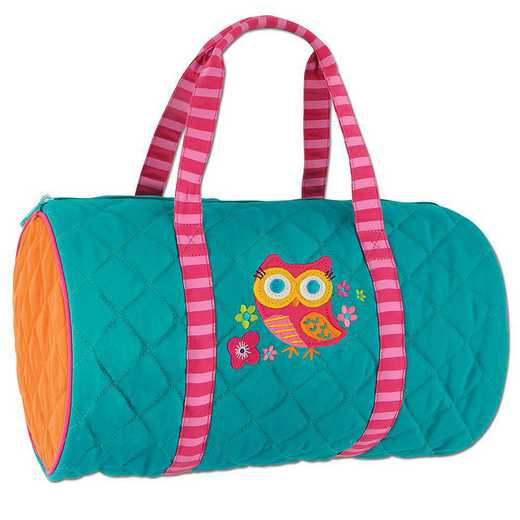 SJ830176A: SJ  QUILTED DUFFLE  OWL