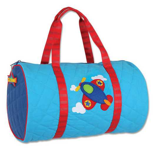 SJ830181A: SJ  QUILTED DUFFLE  AIRPLANE