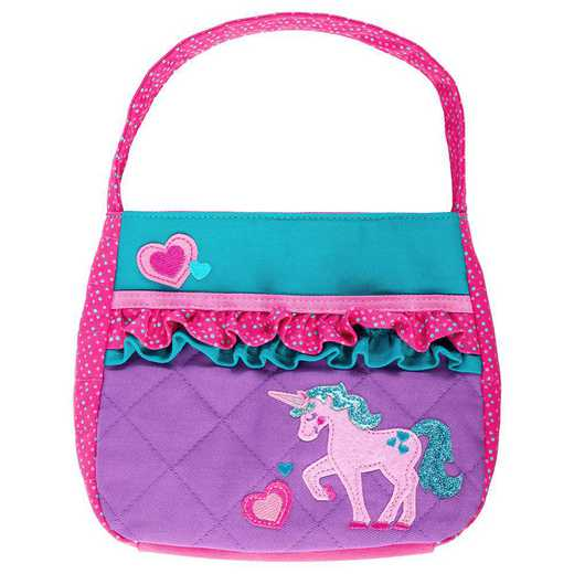 SJ850121: SJ  QUILTED PURSE UNICORN
