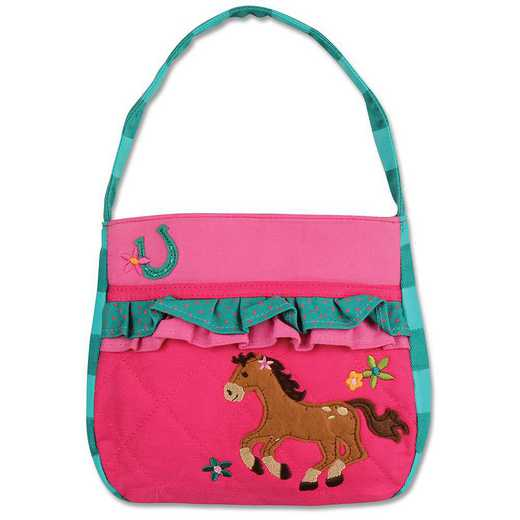 SJ850132: SJ  QUILTED PURSE  HORSE