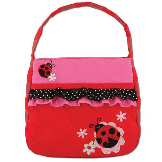 SJ850160A: SJ  QUILTED PURSE  LADYBUG