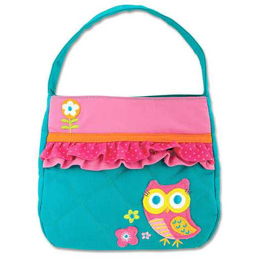 SJ850176A: SJ  QUILTED PURSE  OWL