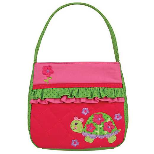 SJ850190B: SJ  QUILTED PURSE TURTLE