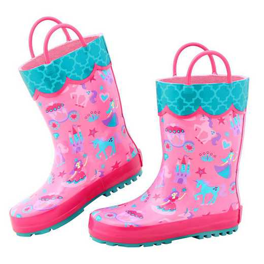 Stephen Joseph All Over Print Princess Rainboots