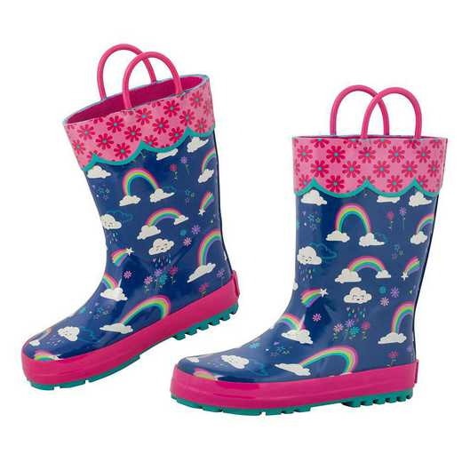 Stephen Joseph All Over Print Rainbow Rainboots