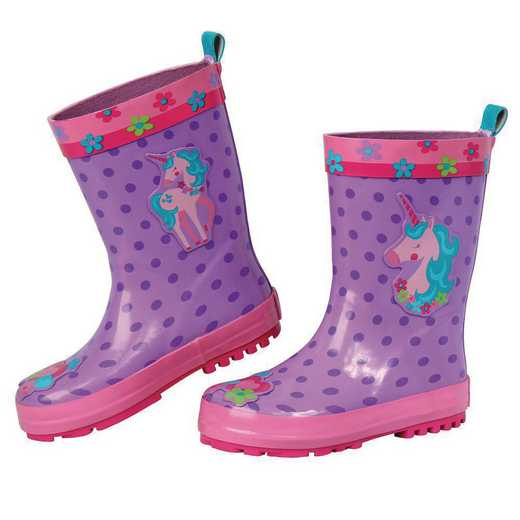 Stephen Joseph All Over Print Unicorn Rainboots