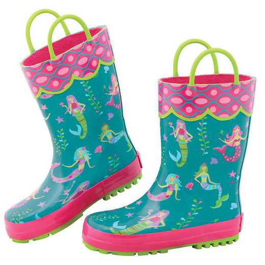 Stephen Joseph All Over Print Mermaid Rainboots