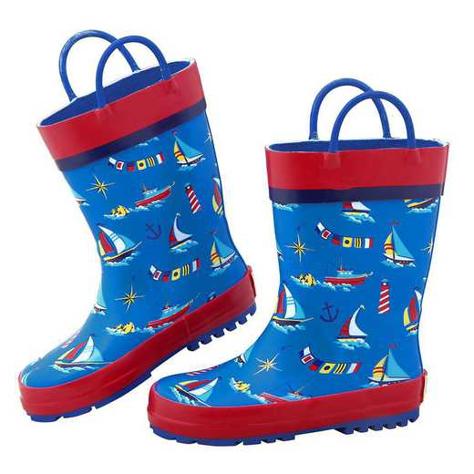 Stephen Joseph All Over Print Nautical Rainboots