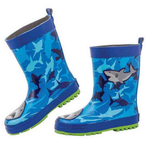Stephen Joseph All Over Print Shark Rainboots