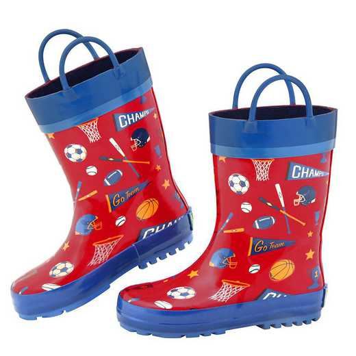 Stephen Joseph All Over Print Sports Rainboots