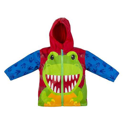 Stephen Joseph Dino All-Over Print Raincoat