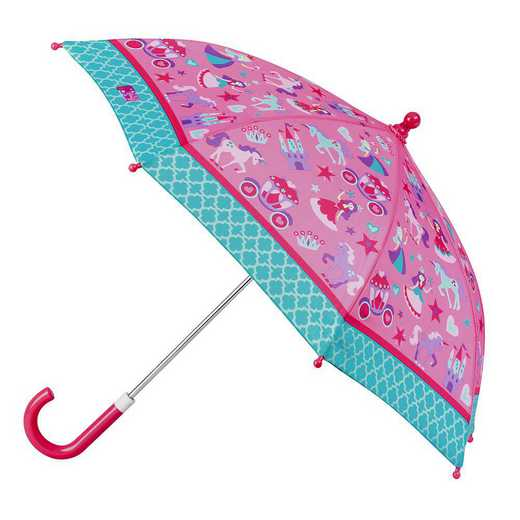 SJ870104Z: SJ  All Over Print PRINCESS UMBRELLA