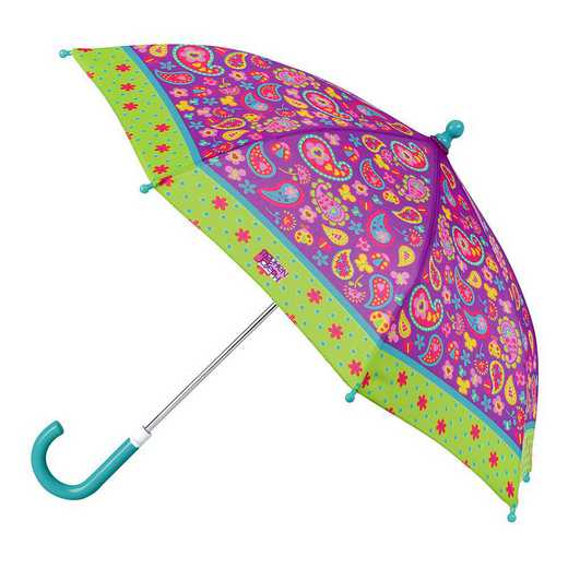 SJ870125Z: SJ  All Over Print PAISLEY UMBRELLA