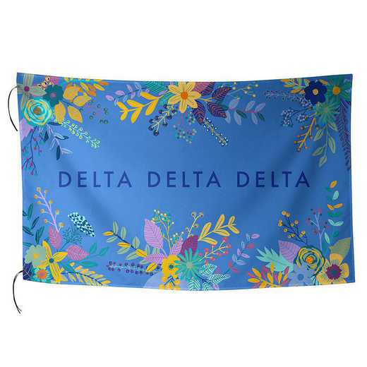 AA3018DDD: ALEX CO SUBLIMATED FLAG DELTA DELTA DELTA