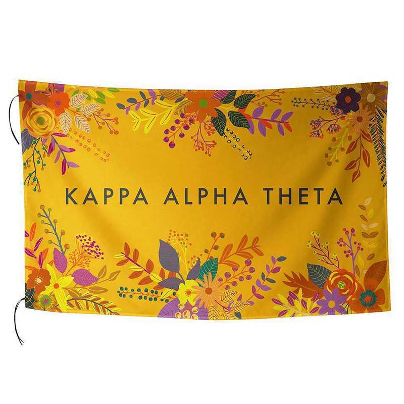 AA3018KAT: ALEX CO SUBLIMATED FLAG KAPPA ALPHA THETA