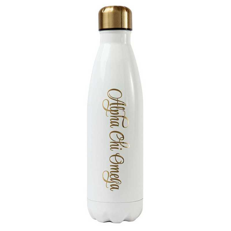 AA3001ACO: Alex Co SS WATER BOTTLE ALPHA CHI OMEGA (F16)