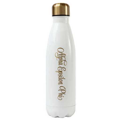 AA3001AEP: Alex Co SS WATER BOTTLE ALPHA EPSILON PHI (F16)
