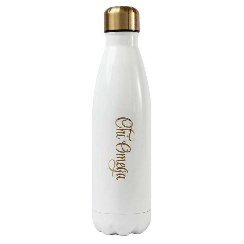 AA3001CO: Alex Co SS WATER BOTTLE CHI OMEGA (F16)
