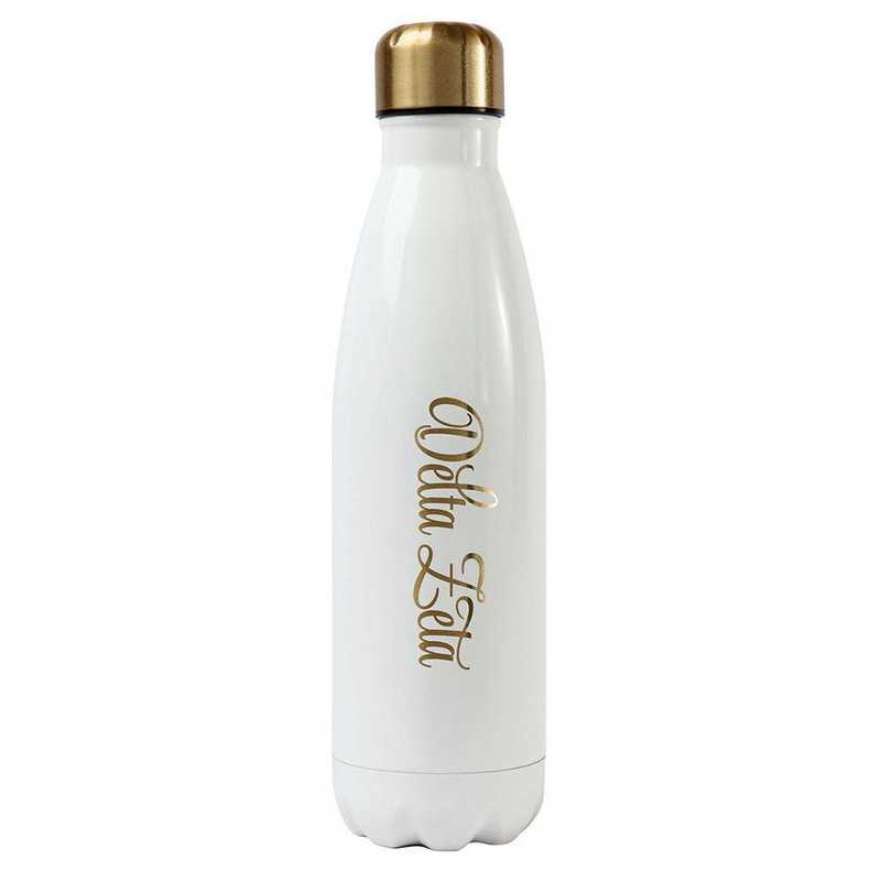 AA3001DZ: Alex Co SS WATER BOTTLE DELTA ZETA (F16)