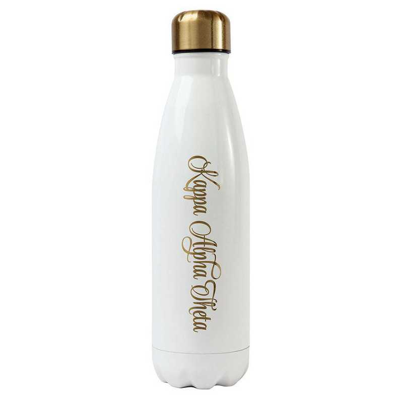 AA3001KAT: Alex Co SS WATER BOTTLE KAPPA ALPHA THETA (F16)