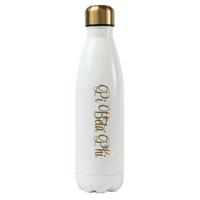 AA3001PBP: Alex Co SS WATER BOTTLE PI BETA PHI (F16)