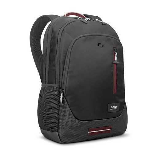 "VAR704-4: Solo Region 15.6""  Backpack- Blk"