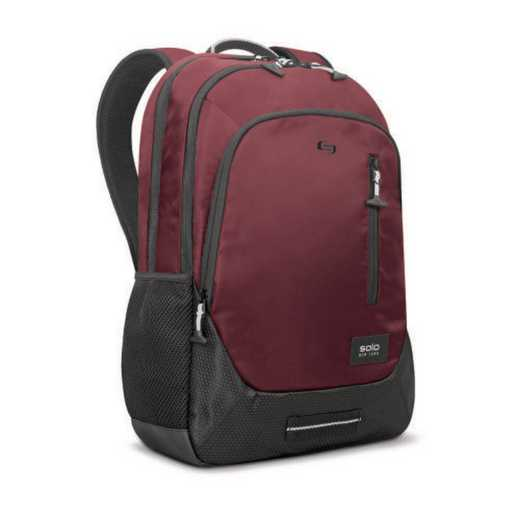 "VAR704-60: Solo Region 15.6"" Backpack- Burg"
