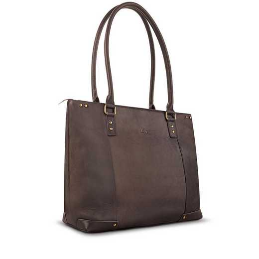 "VTA801-3: Solo Jay 15.6""  Leather Tote"