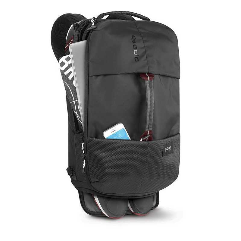 Solo All Star Hybrid Backpack Duffel Black