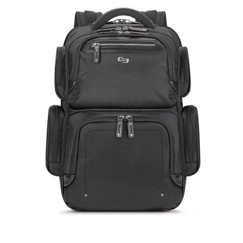 EXE750-4U2 : Solo Lexington Backpack- Black