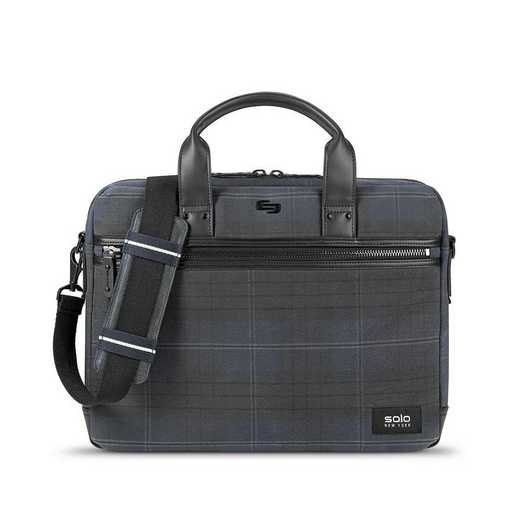 HLD100-51U4: Solo Bryce Slim Brief- Plaid