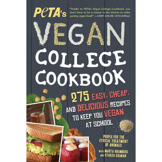 9781492635543: PETA'S Vegan College Cookbook
