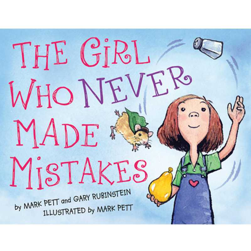 9781402255441: The Girl Who Never Made Mistakes