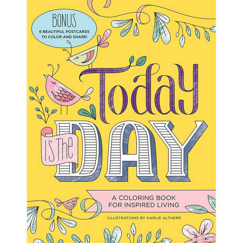 9781492647157: Today Is the Day Coloring Book