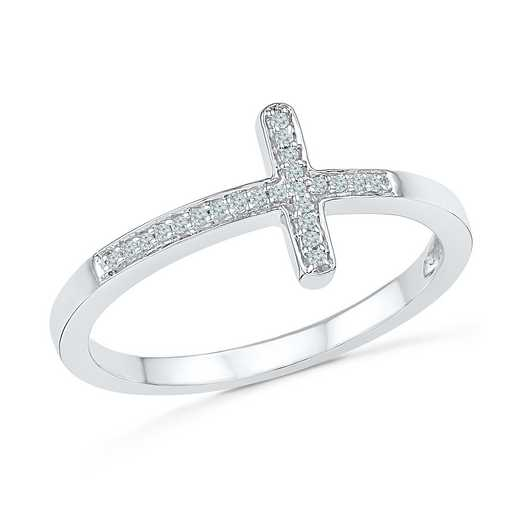 Diamond Accent Fashion Ring in Sterling Silver