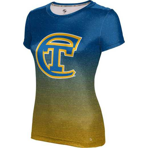 ProSphere New York City College of Technology Women's Performance T-Shirt (Ombre)