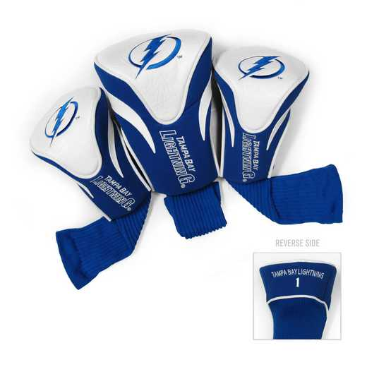 15594: 3 PKContour Head Covers Tampa Bay Lightning