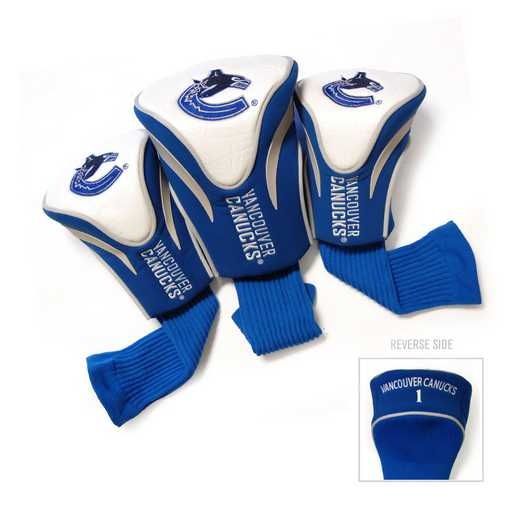 15794: 3 PKContour Head Covers Vancouver Canucks