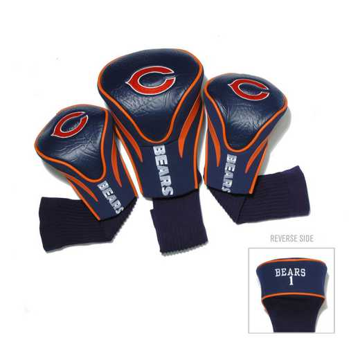 30594: 3 PKContour Head Covers Chicago Bears