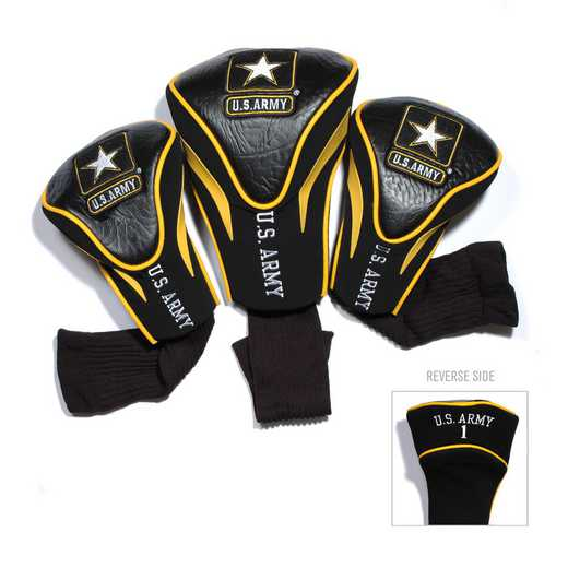 57894: 3 PKContour Head Covers Us Army