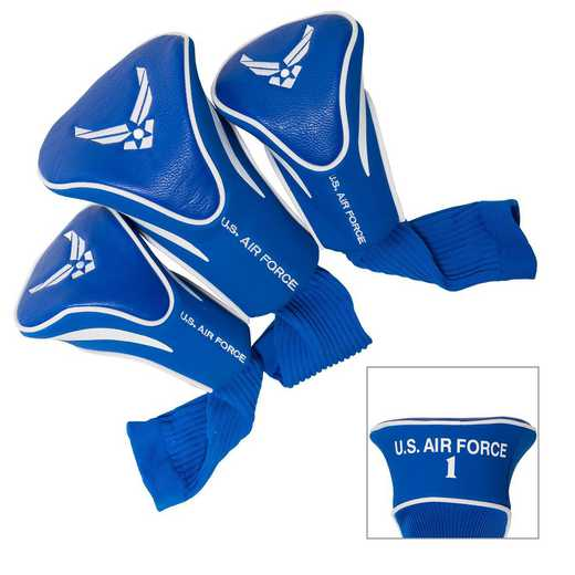 59894: 3 PKContour Head Covers Us Air Force