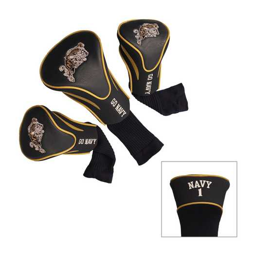 76894: 3 PKContour Head Covers Naval Academy