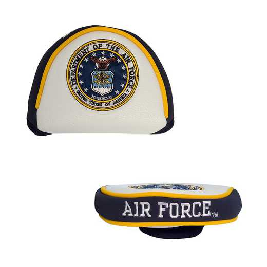 59831: Golf Mallet Putter Cover Us Air Force
