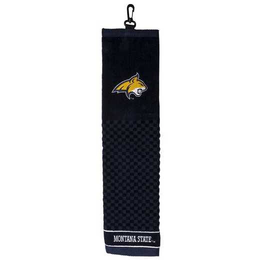 79710: Embroidered Golf Towel Montana St