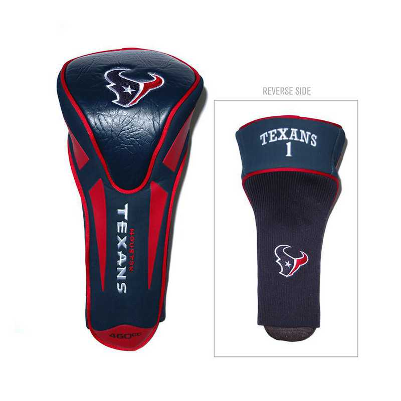 31168: Single Apex Driver Head Cover Houston Texans
