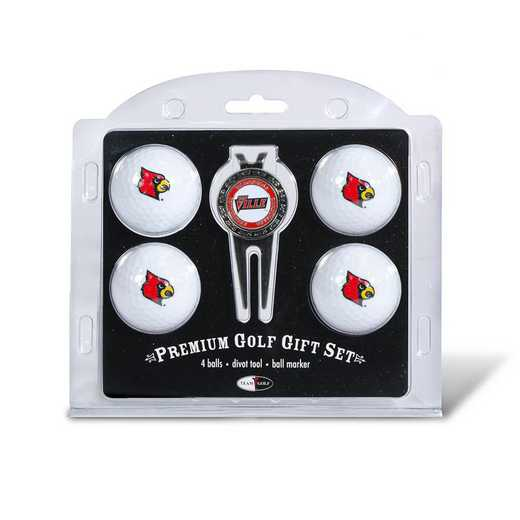 24206: 4 Golf Ball And Divot Tool Set Louisville Cardinals