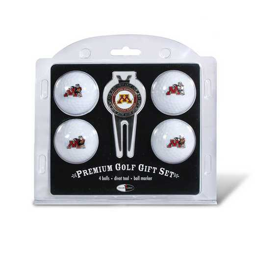 24306: 4 Golf Ball And Divot Tool Set Minnesota Golden Gophers