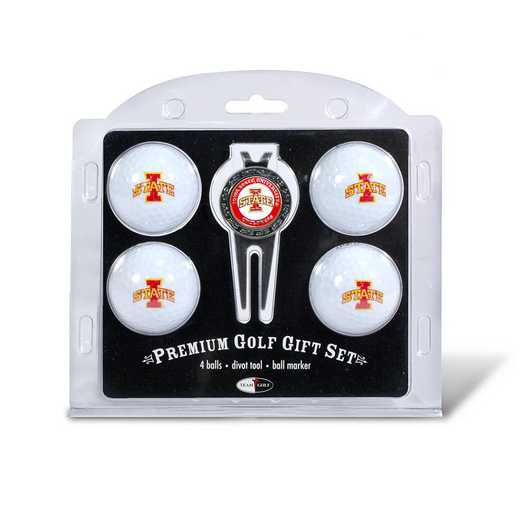 25906: 4 Golf Ball And Divot Tool Set Iowa State Cyclones
