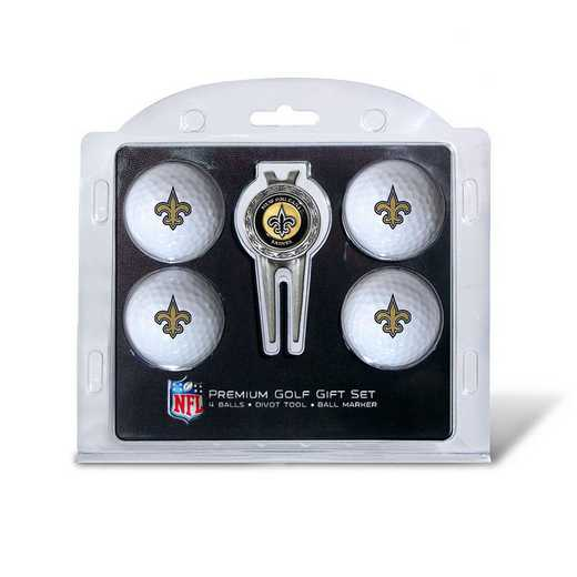 31806: 4 Golf Ball And Divot Tool Set New Orleans Saints